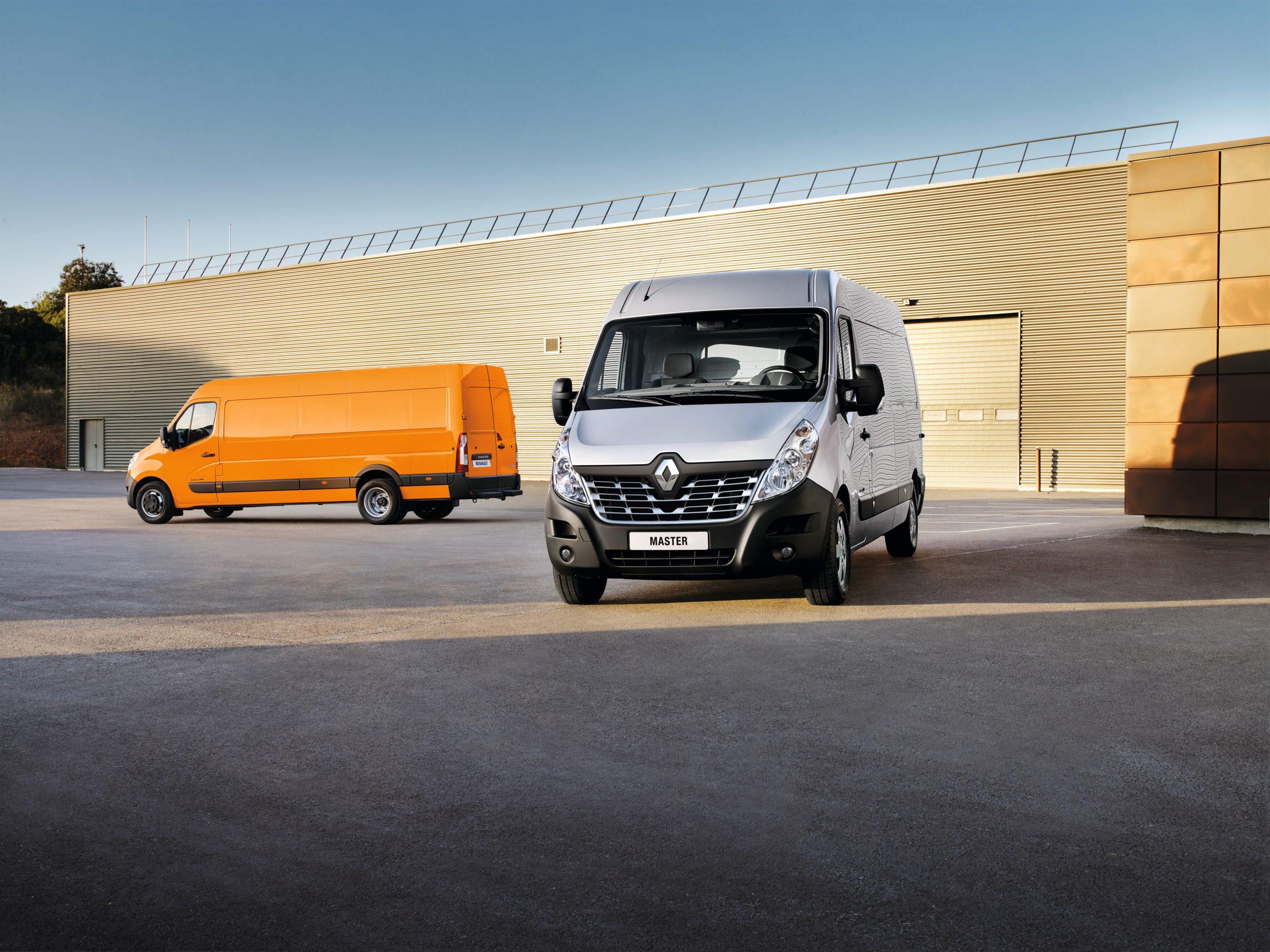 Renault Master numerem jeden wśród aut dostawczych