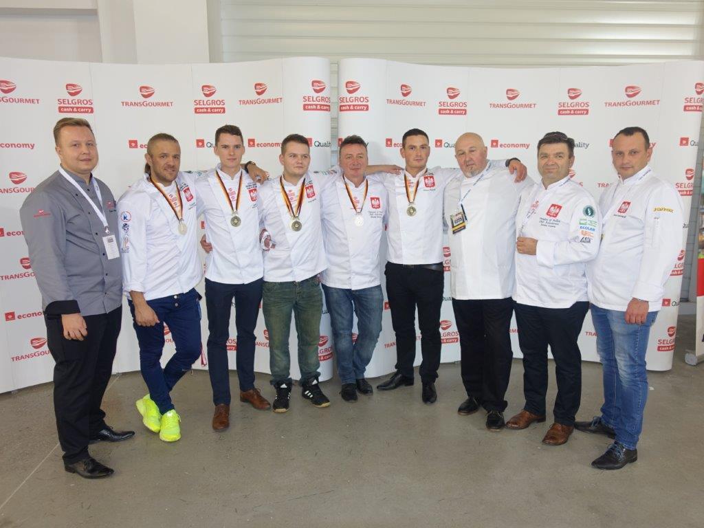 Srebro i brąz dla Polski na Olimpiadzie Kulinarnej w Erfurcie