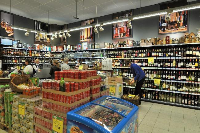 Jakie alkohole promują sklepy?