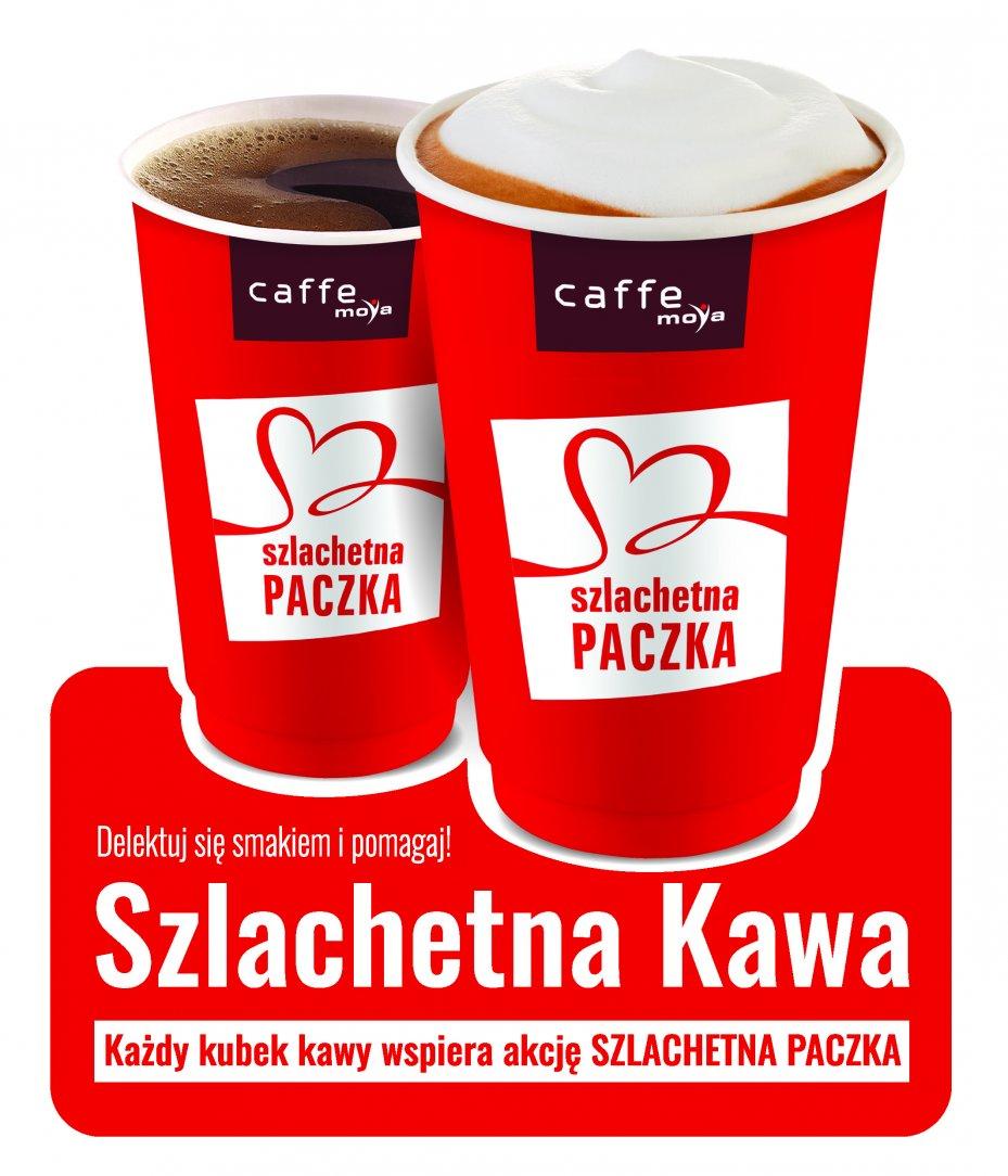 """""""Szlachetna Kawa"""" na stacjach MOYA"""