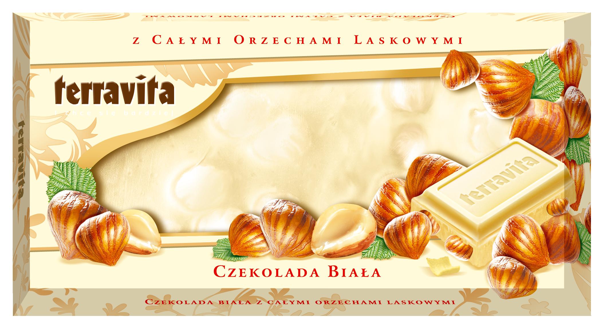 Terravita – Czekolady z całymi orzechami laskowymi
