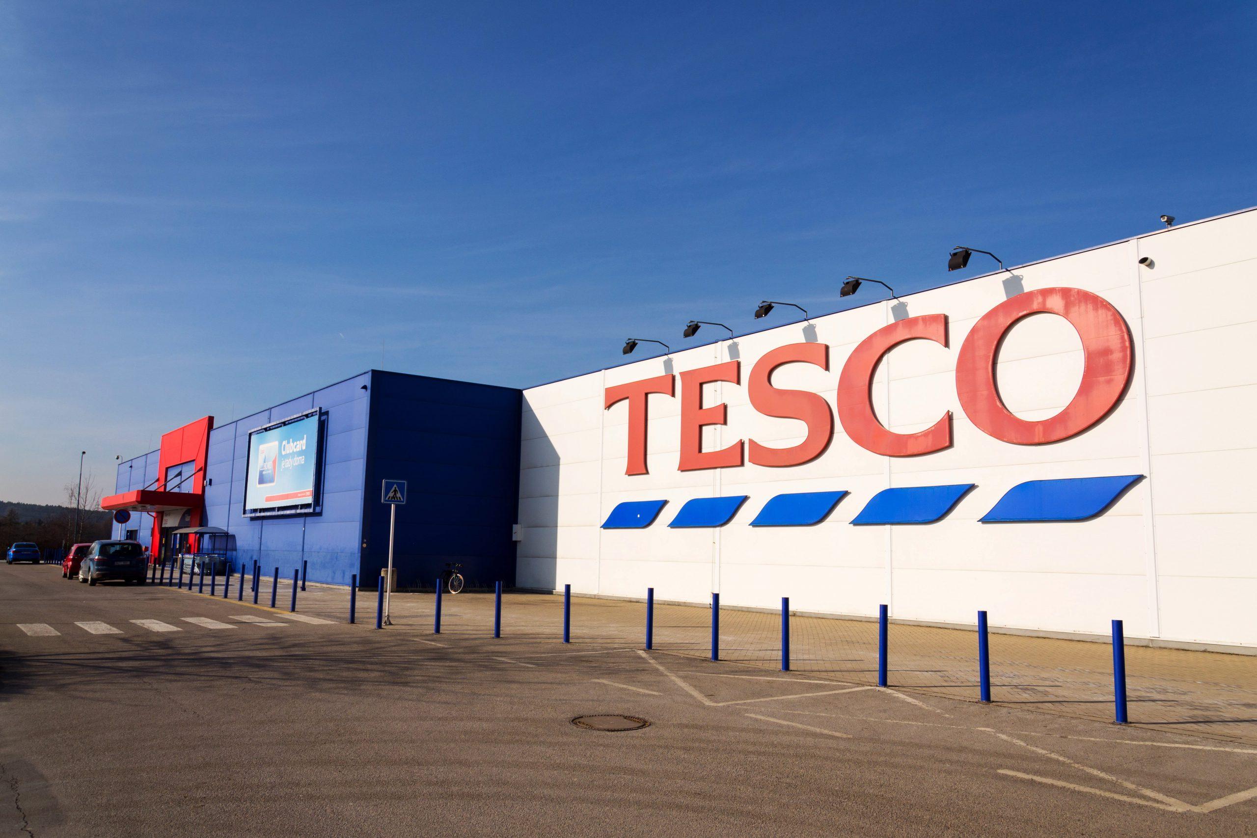 Duże spadki sprzedaży Tesco w Europie Centralnej