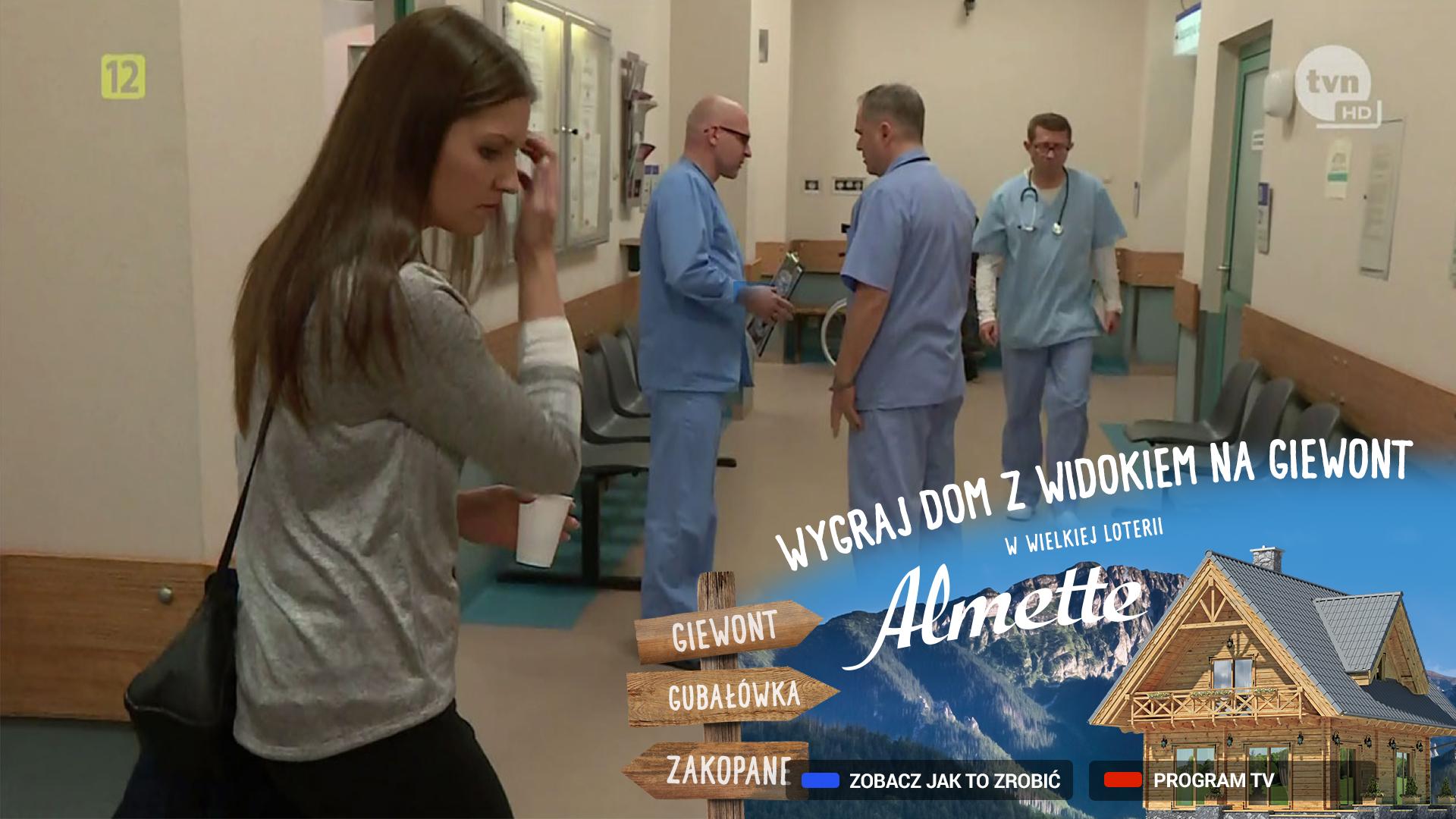 Almette z reklamą w telewizji hybrydowej