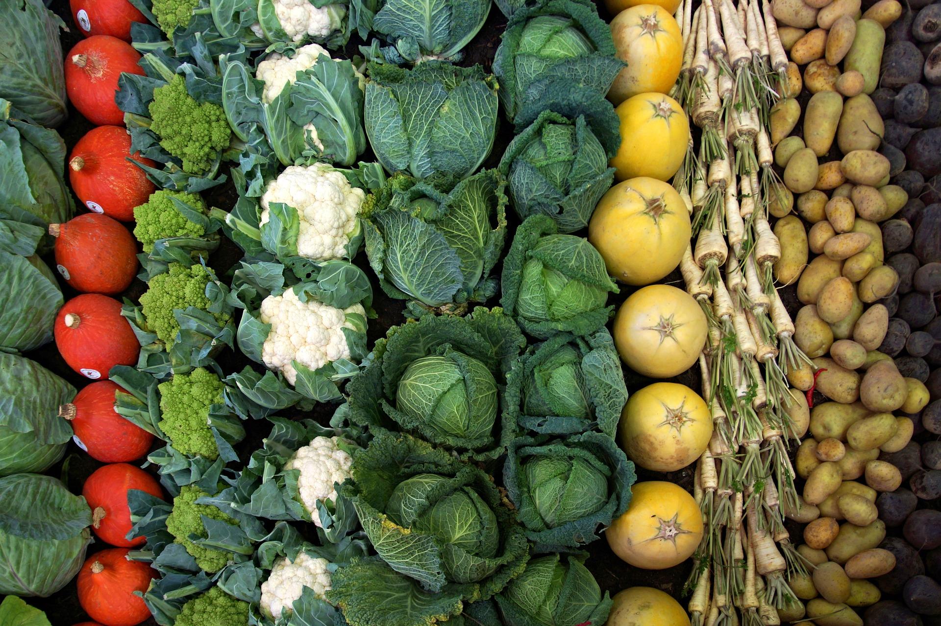 Warzywa w wakacje zdrożały o niecałe 2%