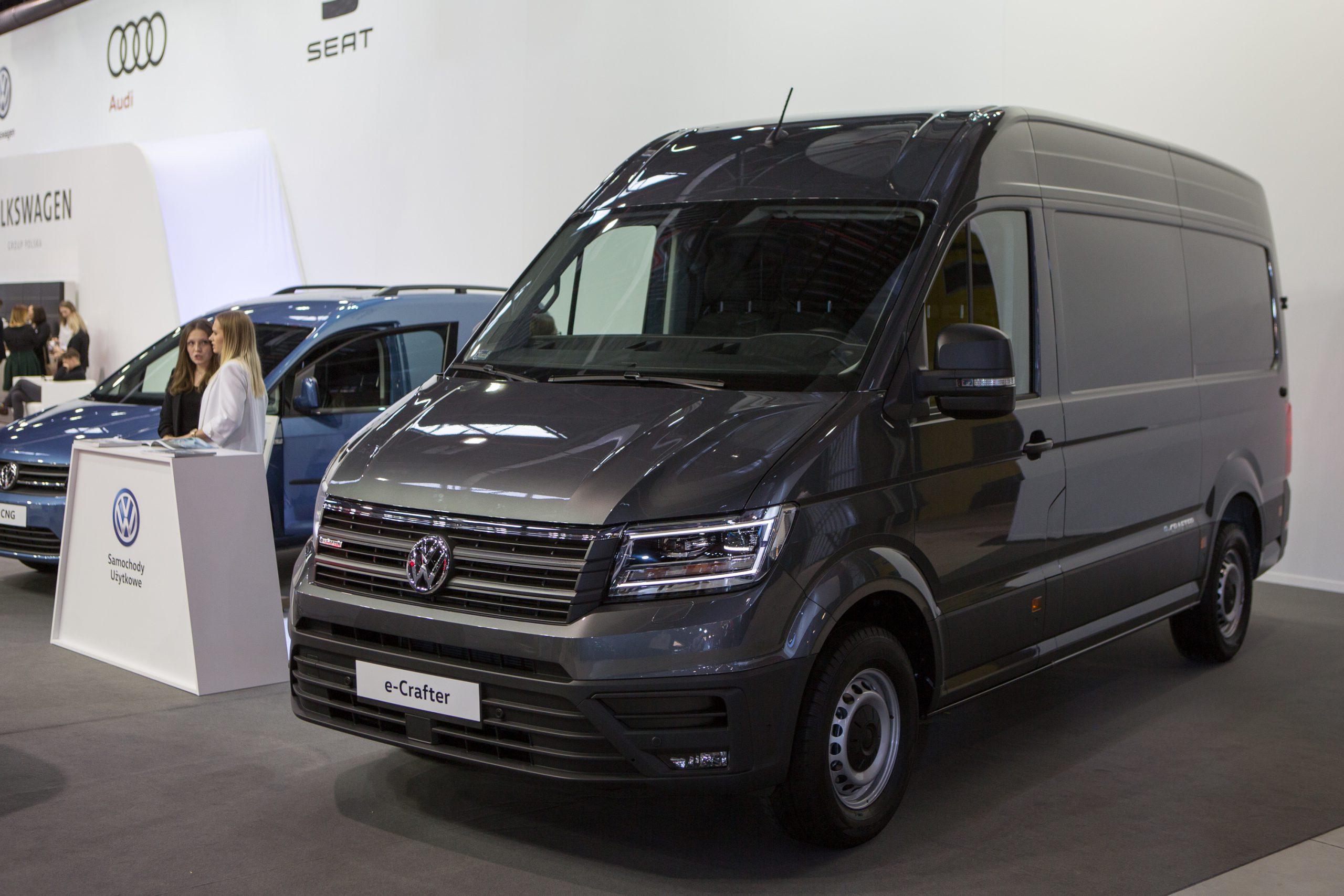 Volkswagen e-Crafter: auto dostawcze z napędem elektrycznym