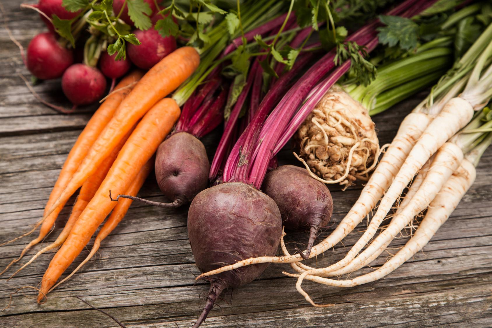 Mniej warzyw i zbóż, więcej owoców