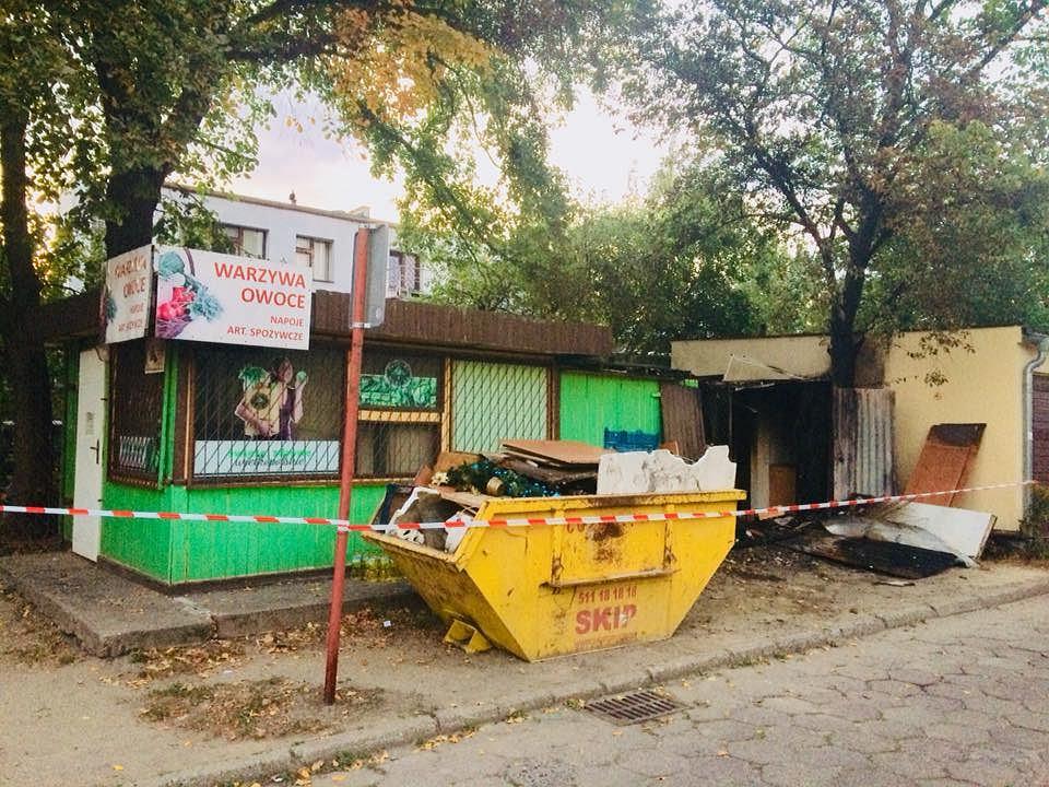 Sprawca pożarów na poznańskim Grunwaldzie aresztowany