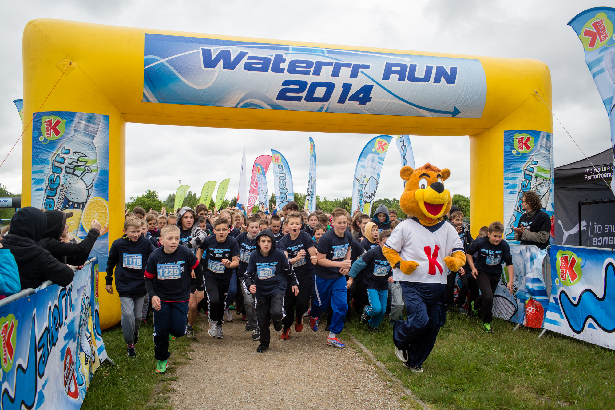 Waterrr Run – wielki bieg uliczny dla dzieci w Krakowie