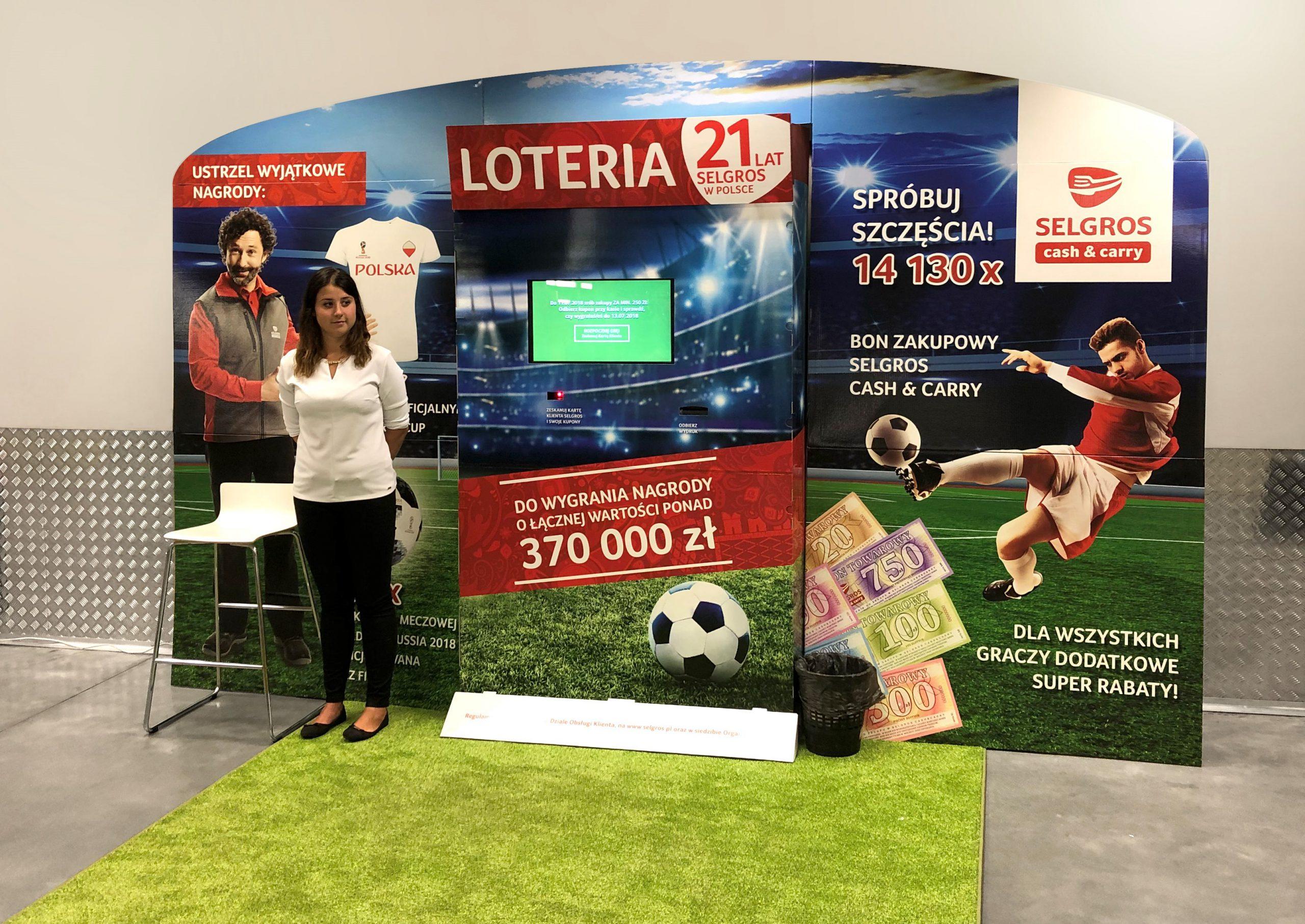 Wielka loteria jubileuszowa w Selgros Cash&Carry