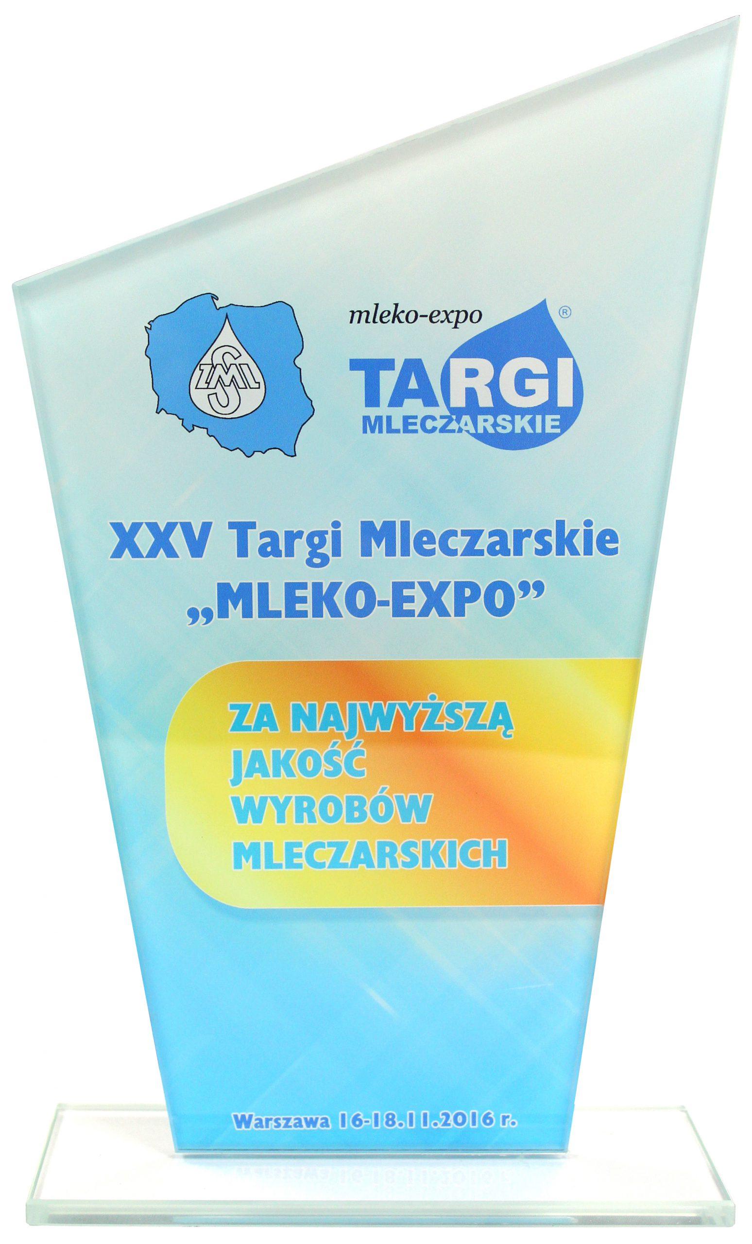 MLEKOVITA – wyróżnienia na targach Mleko-Expo 2016