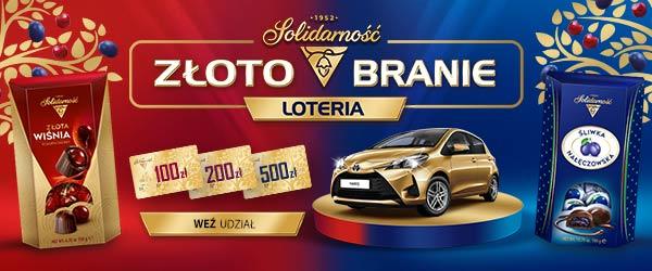 """Solidarność silnie wspiera loterię """"Złotobranie"""""""