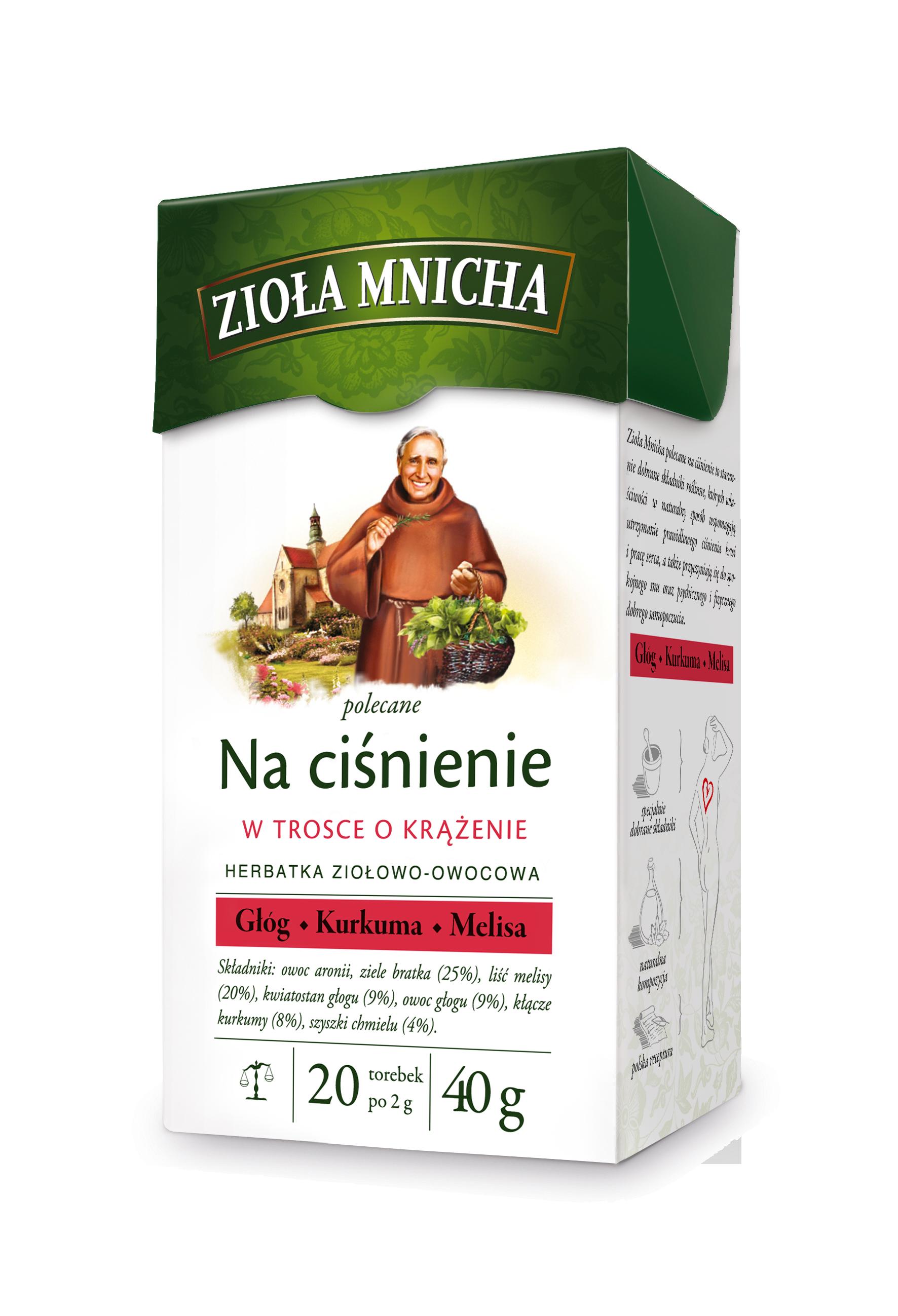 Zioła Mnicha Na ciśnienie od Herbapol Lublin