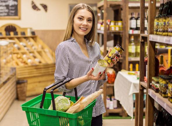 Sklepy intensywnie promują produkty bio, eko i vege