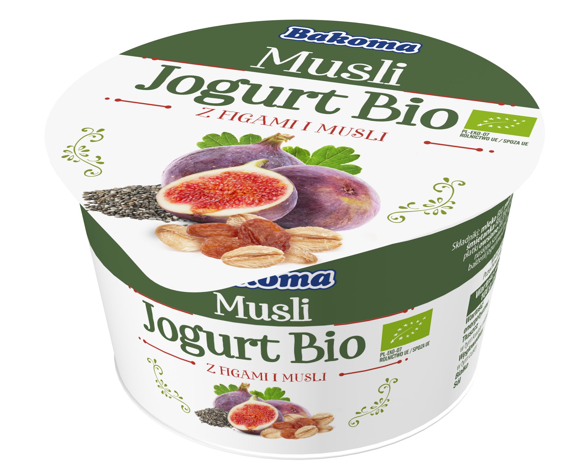 Jogurt Musli BIO od Bakomy