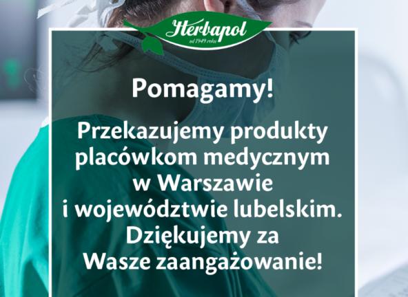 Herbapol-Lublin wspiera placówki medyczne