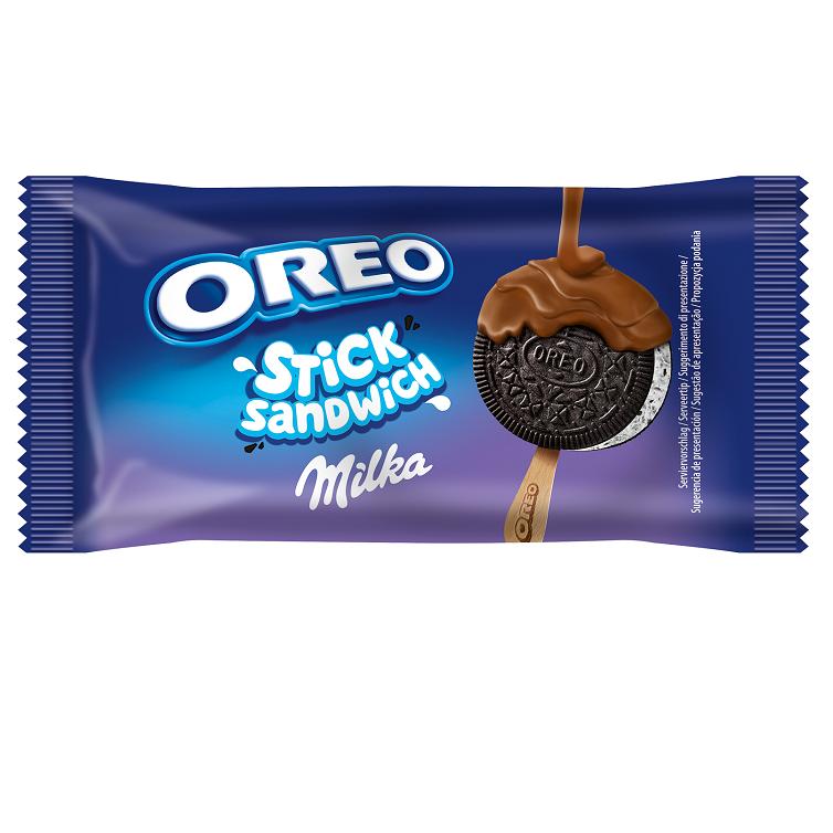 Innowacyjne lody Oreo i Milka