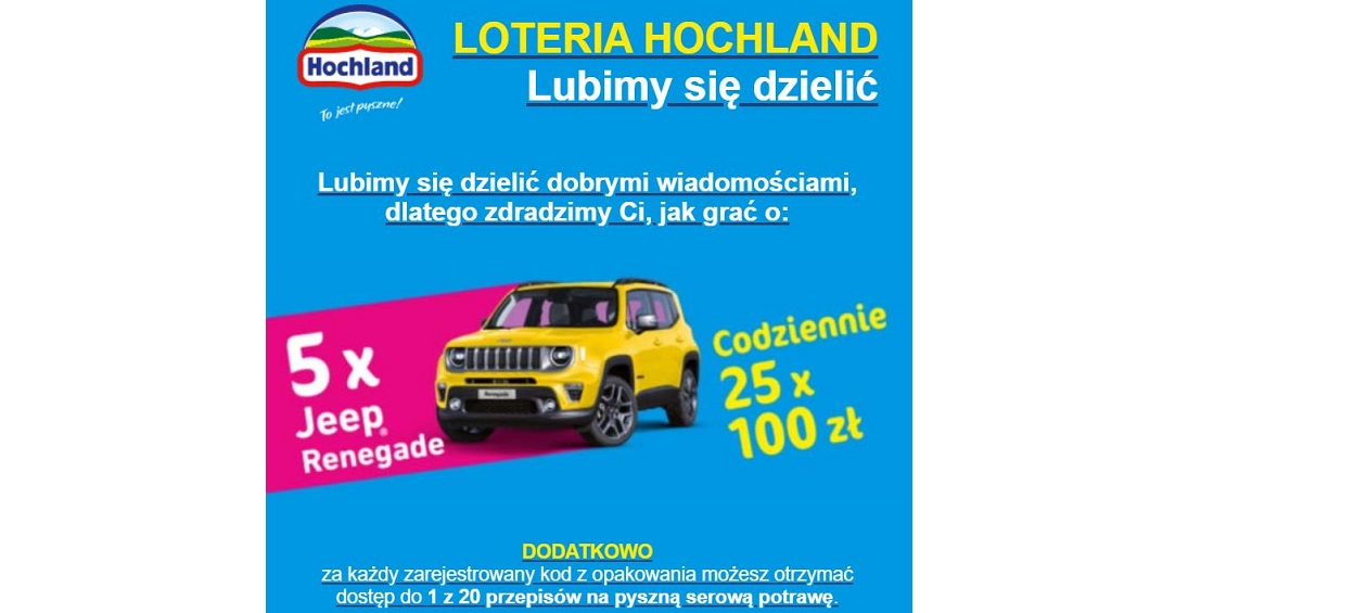 Trwa Loteria Hochland