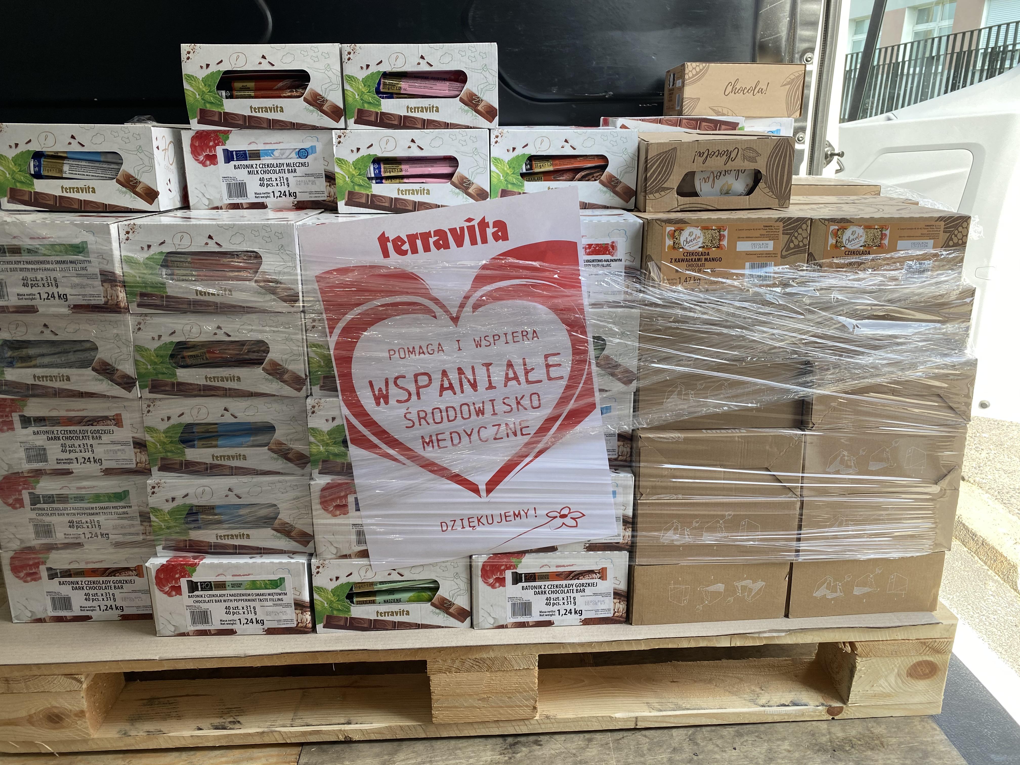 Terravita pomaga poznańskim szpitalom