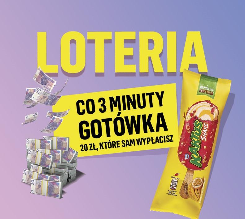 Loteria lodów Kaktus