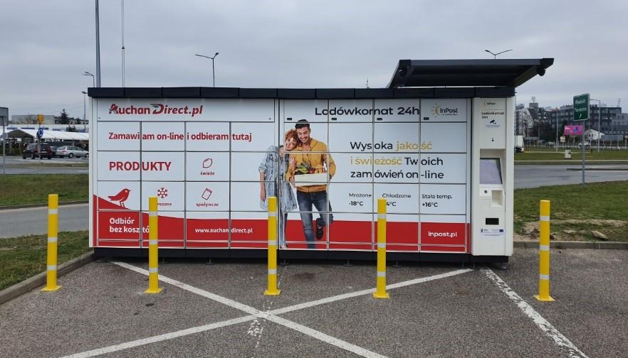 Auchan rozszerza współpracę z InPost