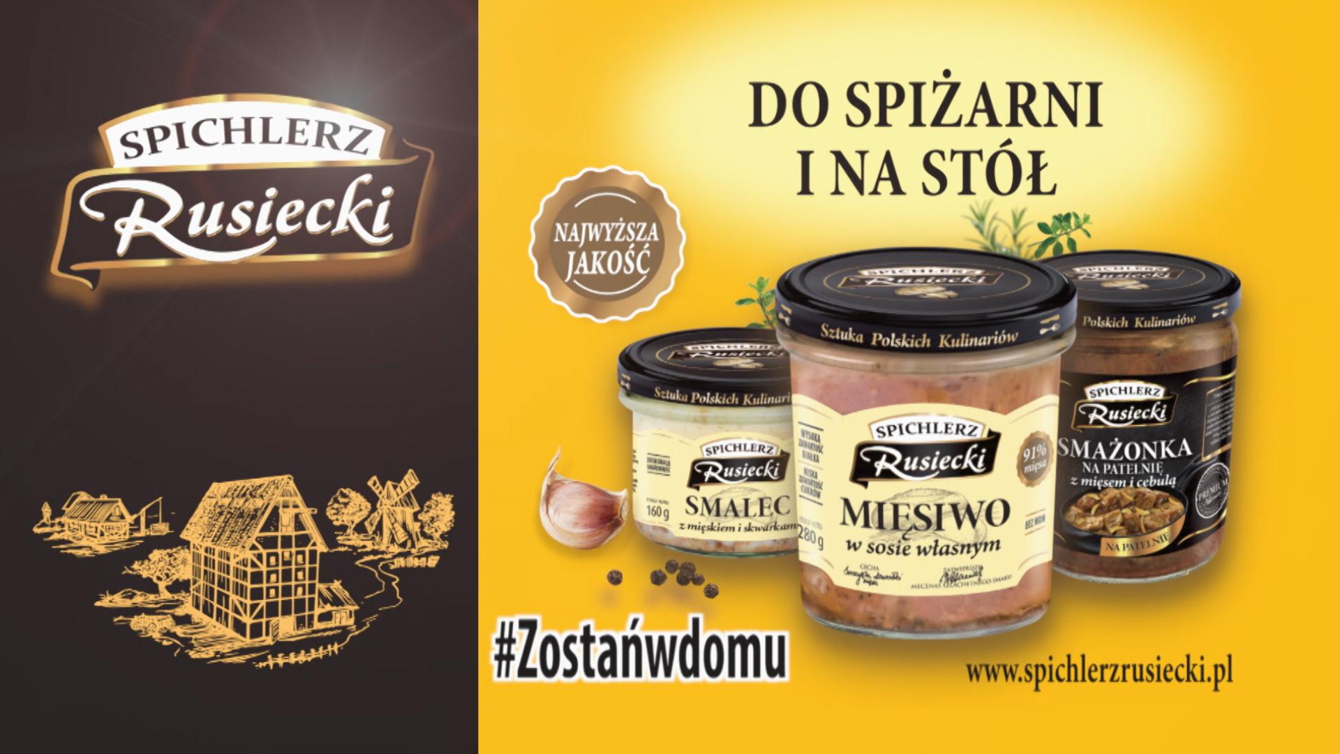 """""""Do spiżarni i na stół"""" – nowa kampania marki Spichlerz Rusiecki"""