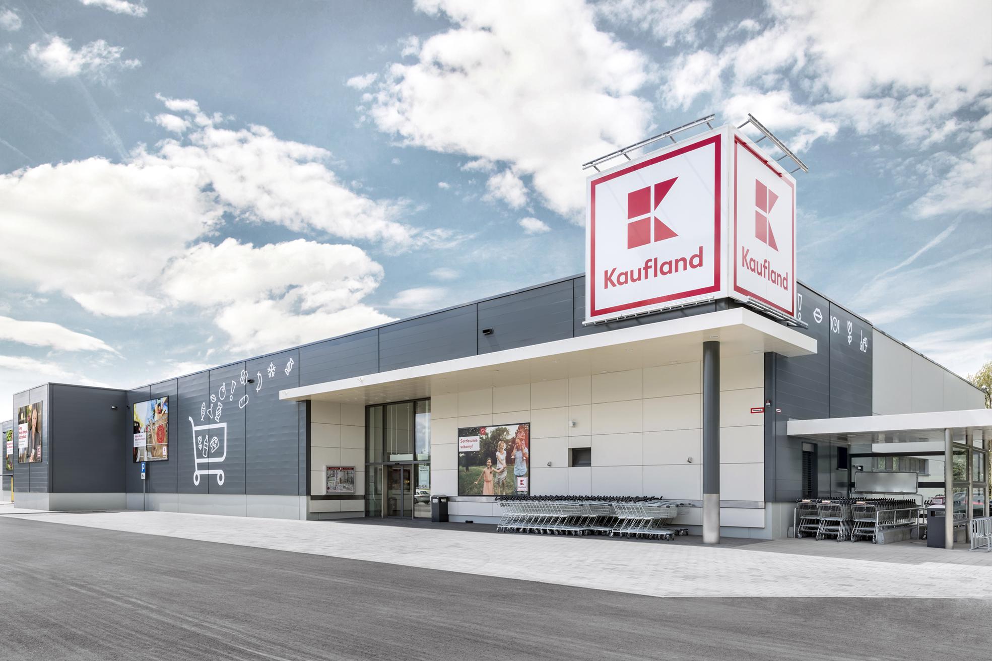 Kaufland rozpoczyna modernizację dziewięciu sklepów