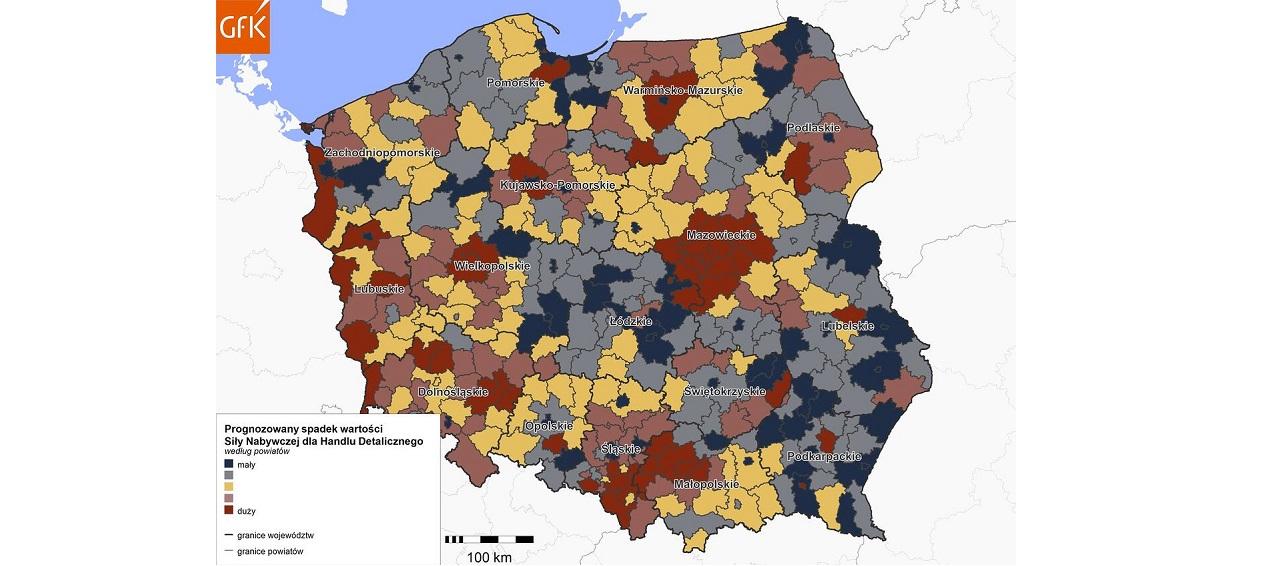 GfK: Wpływ COVID19 na potencjał nabywczy Polaków w handlu