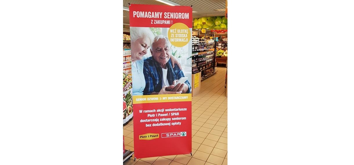 SPAR dowozi zakupy poznańskim seniorom