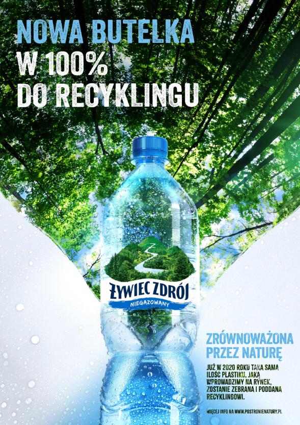 Żywiec Zdrój z nową odsłoną wody niegazowanej