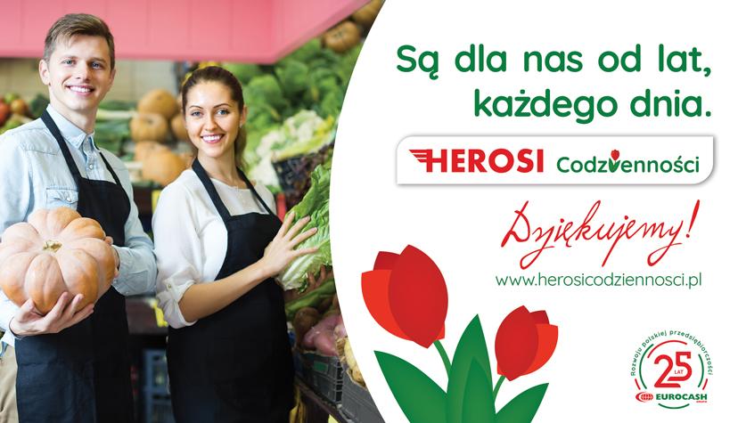"""Eurocash ruszył z kampanią """"Herosi Codzienności"""""""
