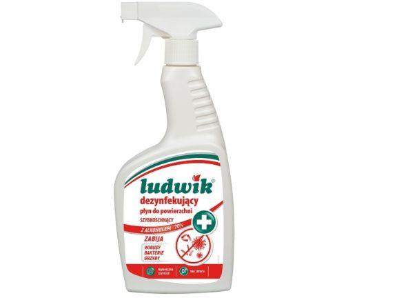 Ludwik dezynfekujące płyny do powierzchni