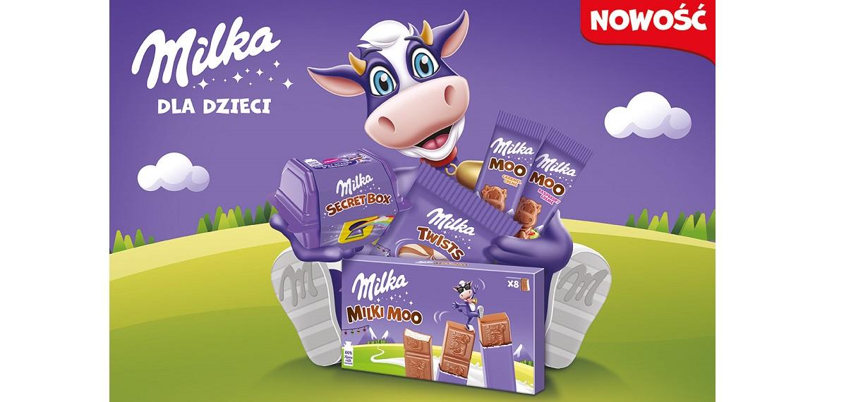 Milka rozszerza portfolio o nowe produkty dedykowane dzieciom