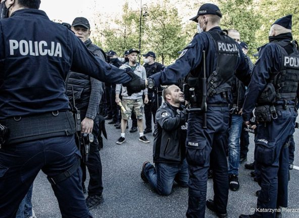 Strajk Przedsiębiorców znów odbył się w Warszawie
