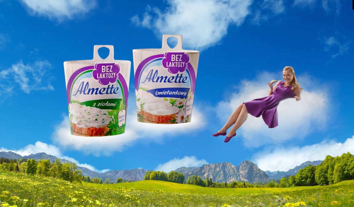 Bez laktozy. Sama przyjemność! – nowa kampania Almette