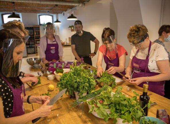 Warsztaty kulinarne z Appetitą i Ewą Wachowicz