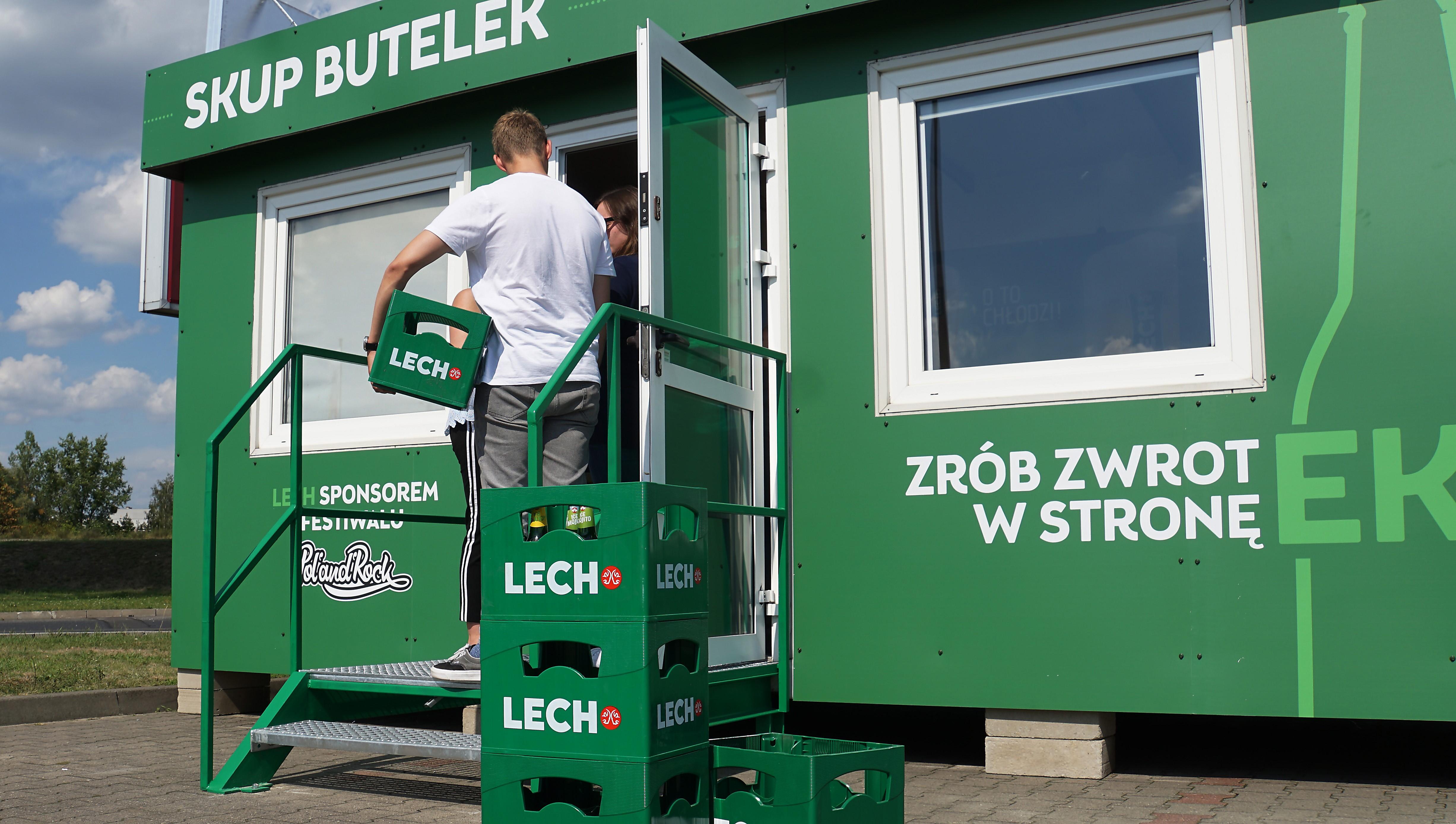 Skup butelek zwrotnych Kompanii Piwowarskiej ponownie otwarty