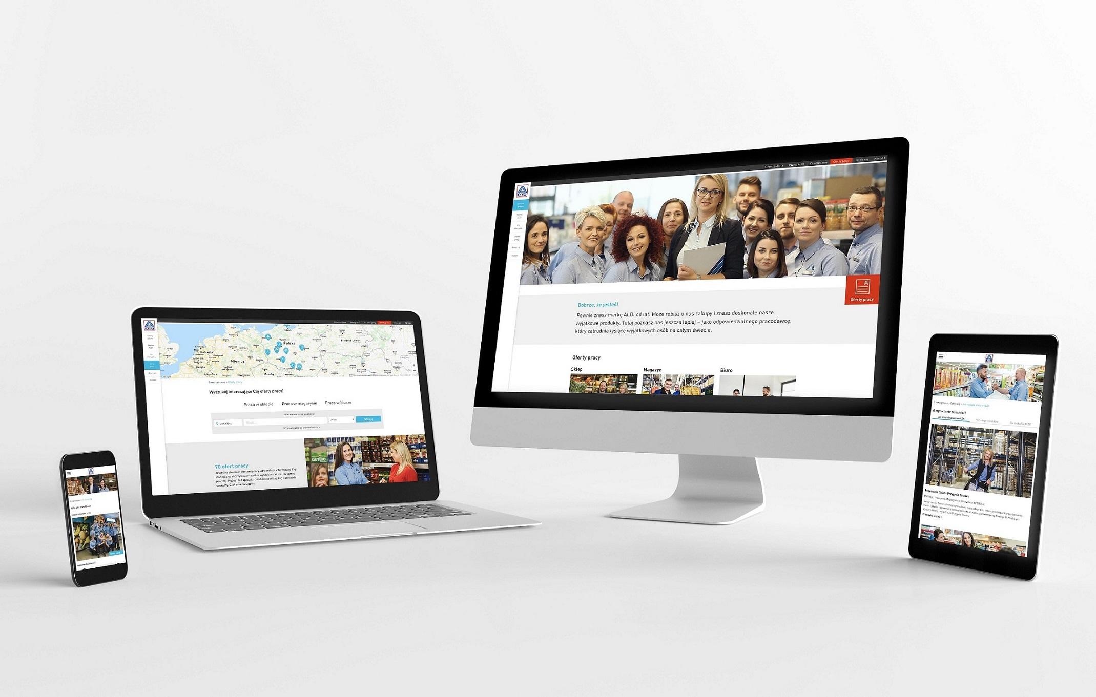ALDI uruchamia nową platformę internetową dla pracowników