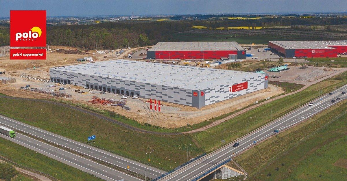 Powstaje trzecie centrum logistyczne sieci POLOmarket