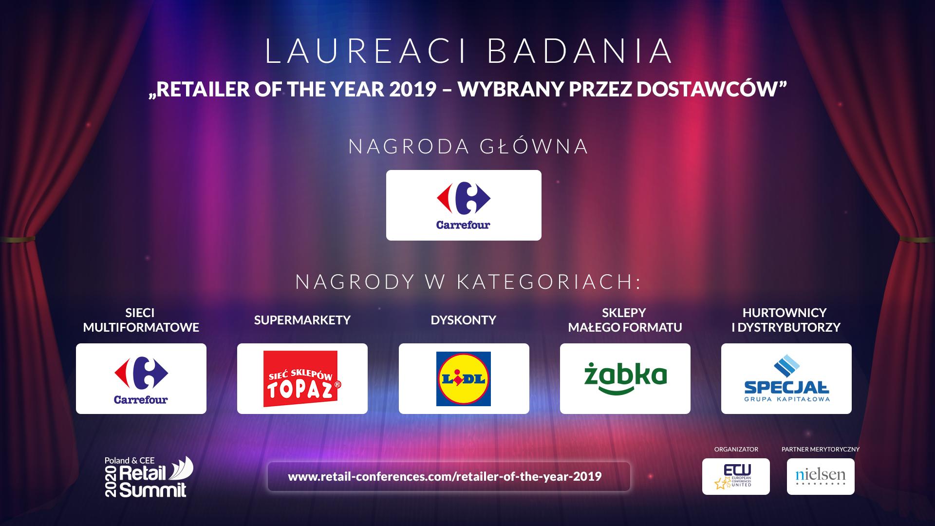 Znamy laureatów nagrody Retailer of the Year 2019