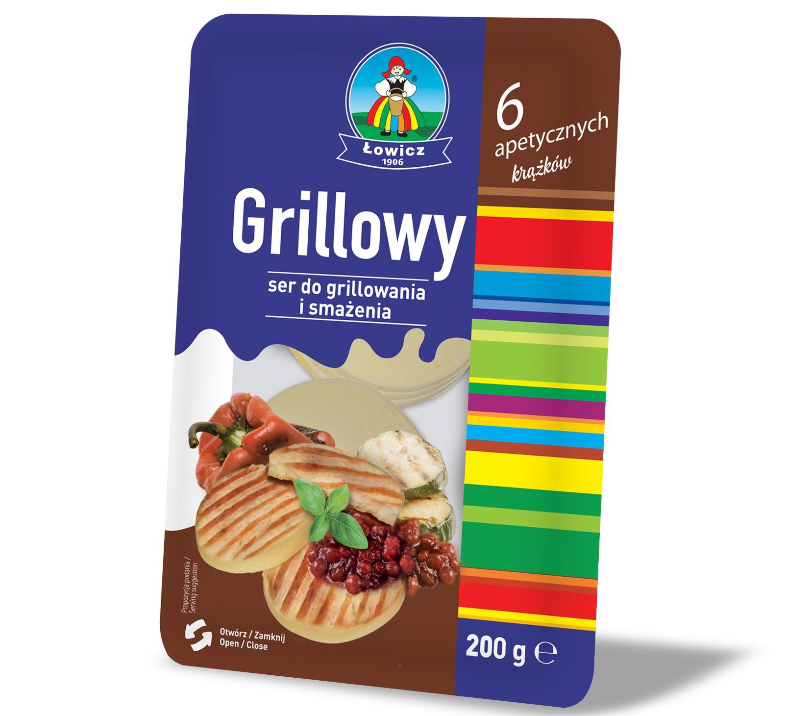 Ser do grillowania i smażenia w 6 apetycznych krążkach