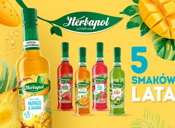 Trwa kampania letniej edycji syropów marki Herbapol