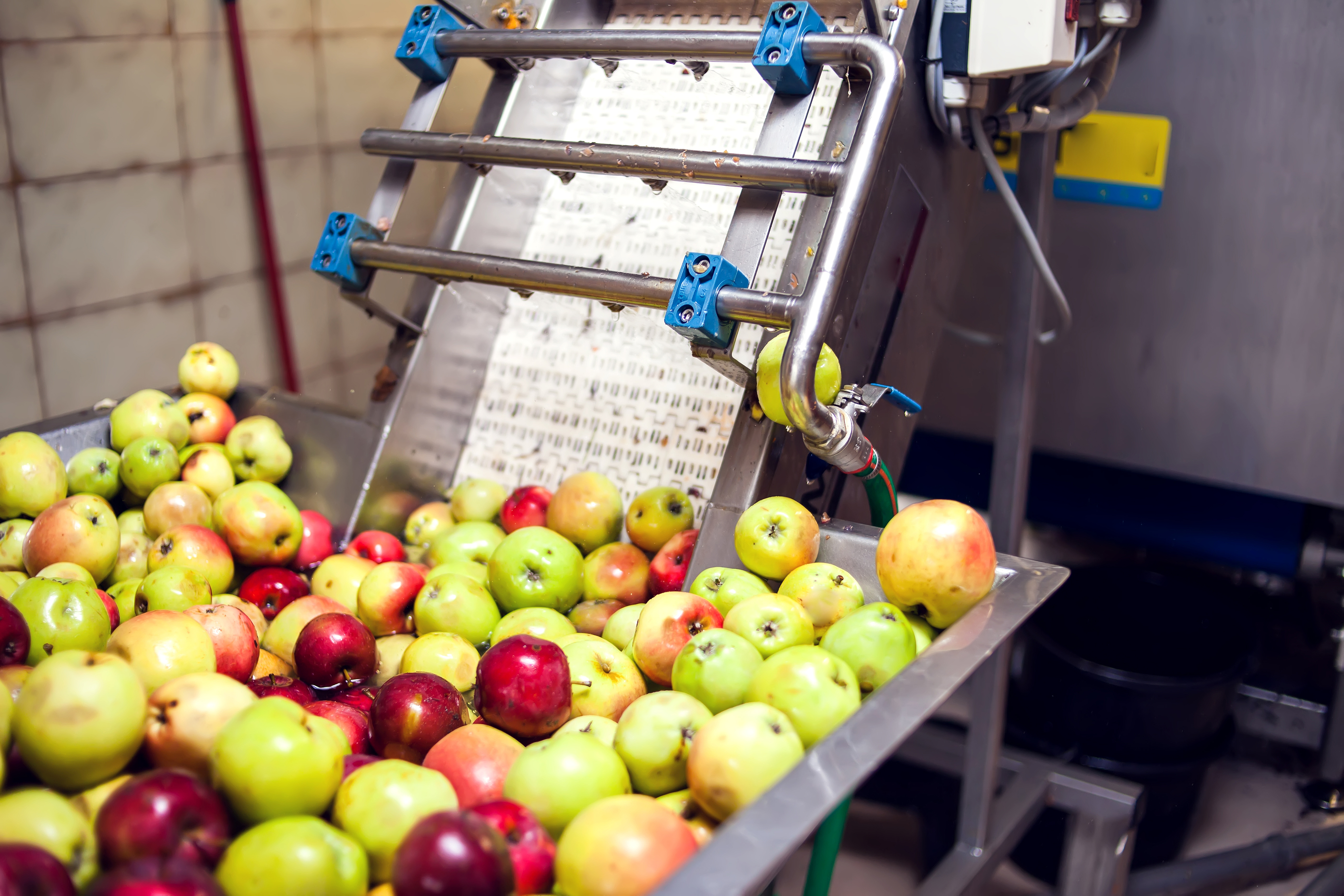Mniejszy eksport koncentratu jabłkowego