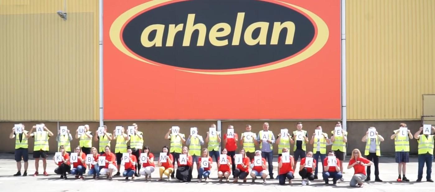 Arhelan wziął udział w #GaszynChallenge
