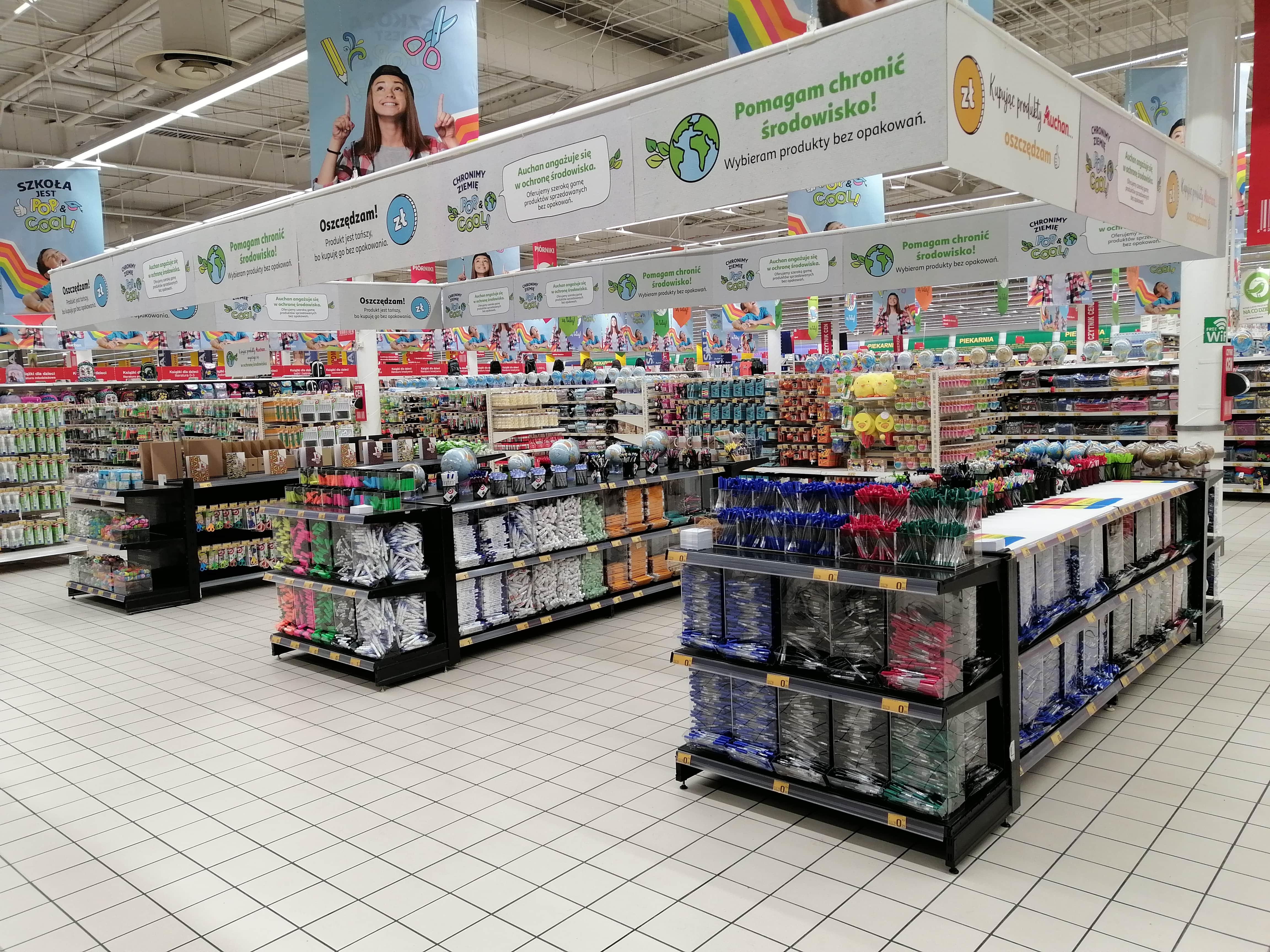Powrót do szkoły z Auchan