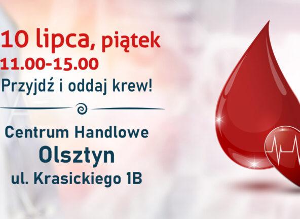 Carrefour wspiera zbiórkę krwi w Olsztynie
