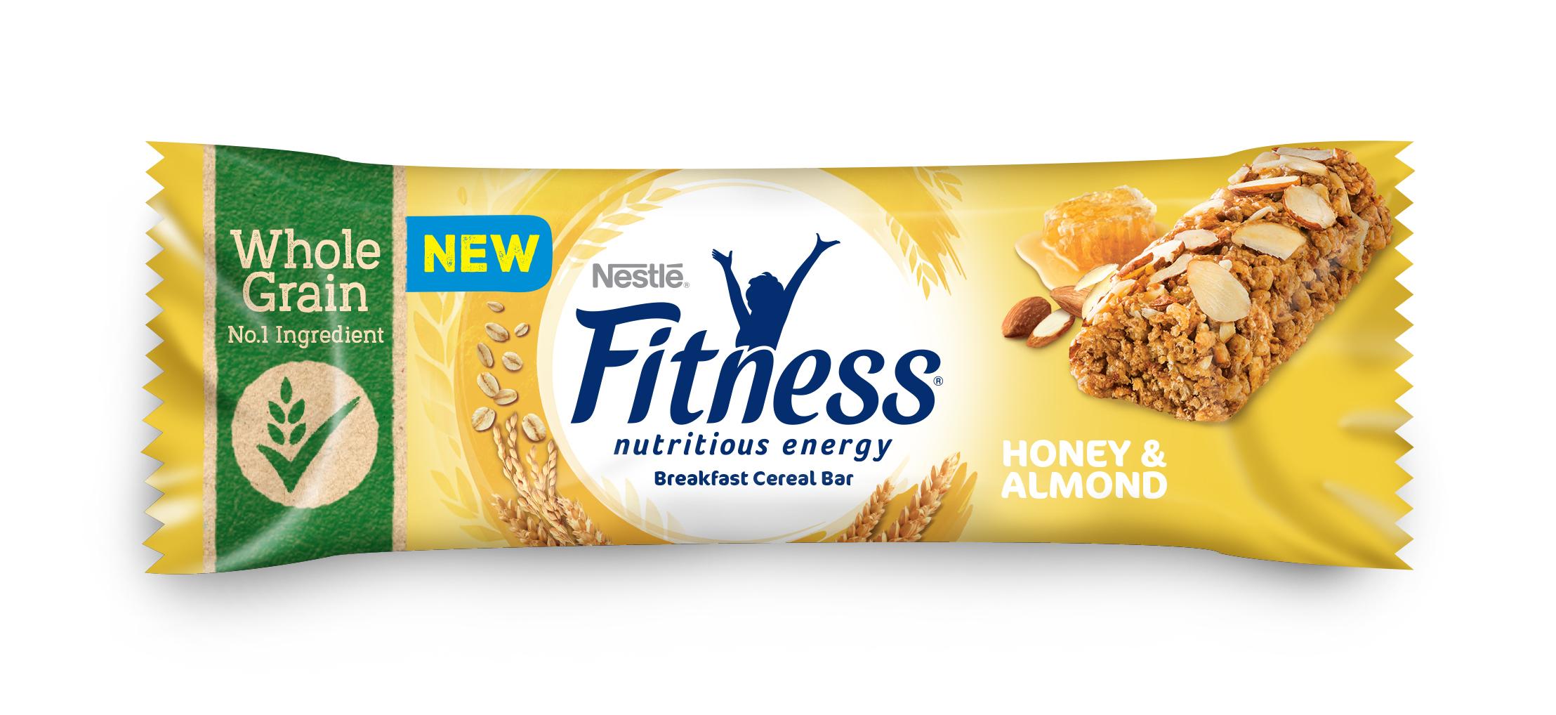 Batony zbożowe Nestlé Fitness Miód i Migdały