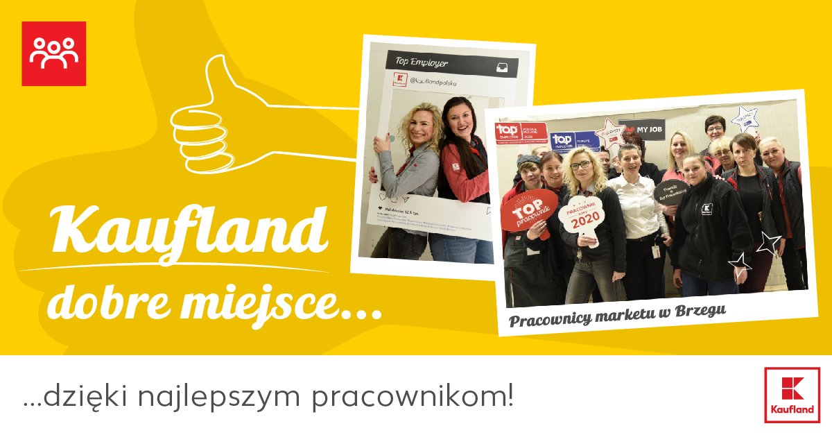 Nowa kampania employerbrandingowa sieci Kaufland