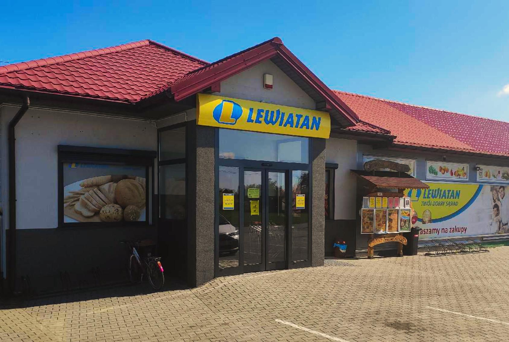 Remodeling sklepów Lewiatan w Białobrzegach i Jedlance