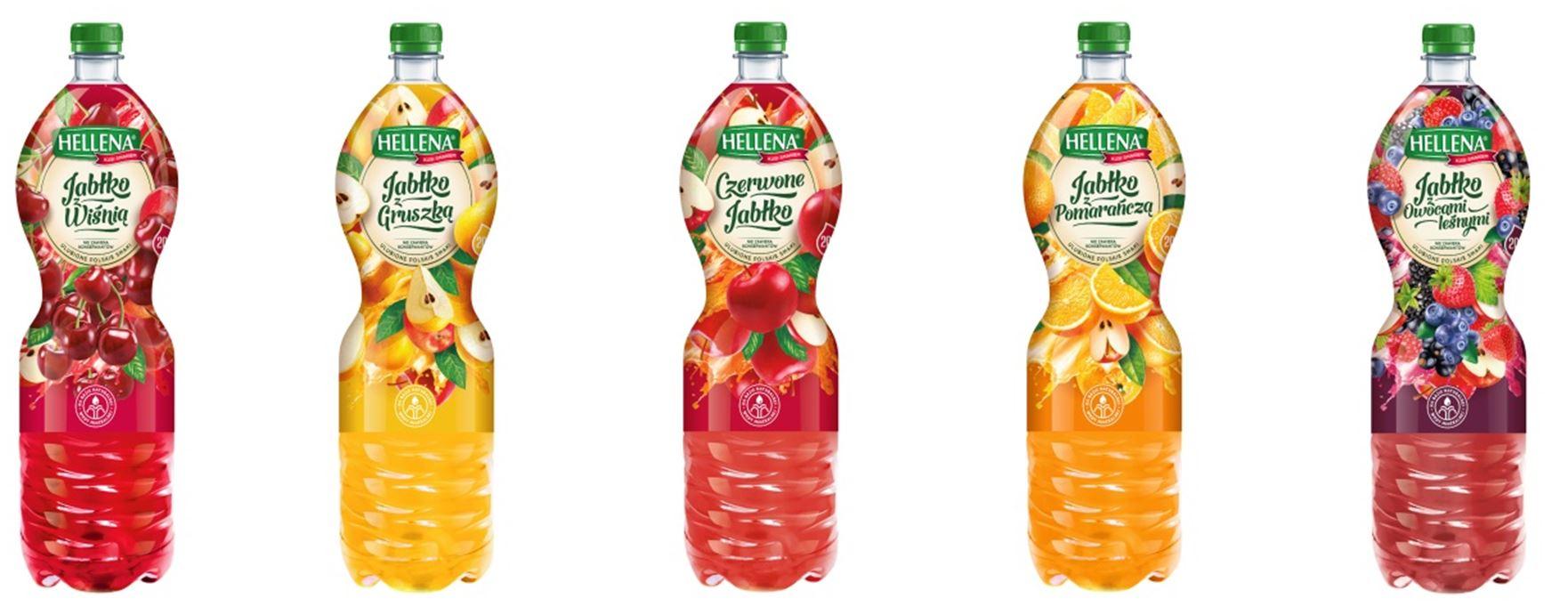 Napoje niegazowane z linii Hellena Premium