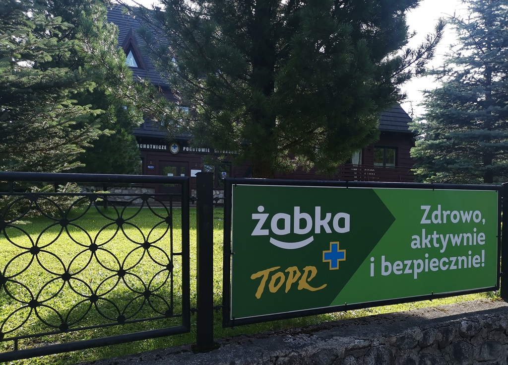 Żabka i TOPR wspólnie działają dla bezpieczeństwa w górach